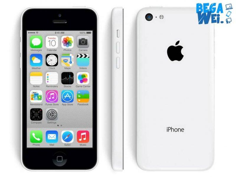 spesifikasi apple iphone 5c