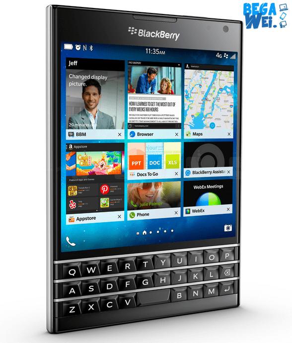spesifikasi blackberry passport