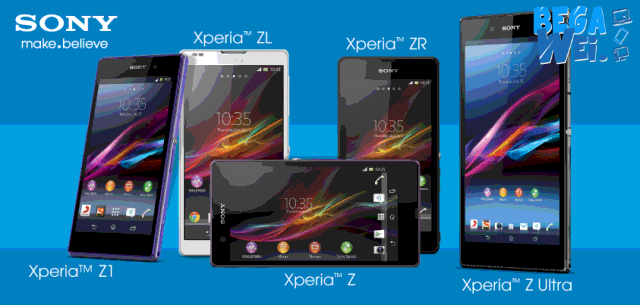 sony xperia z series akan gunakan android lollipop