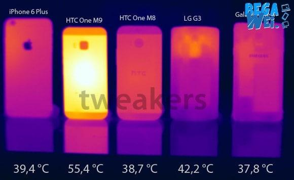 HTC One M9 Overheat Saat Tes Benchmark