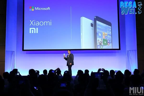 Microsoft Uji Windows Phone Mobile 10 di Xiaomi Mi 4