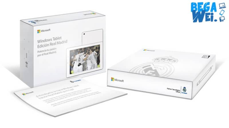 tablet real madrid dari microsoft
