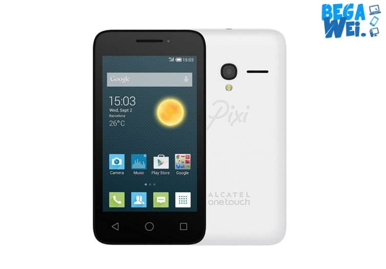 Alcatel Pixi 4.4 warna putih