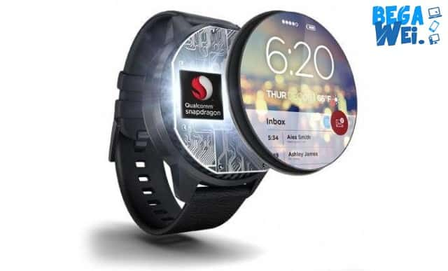 chipset,snapdragon,wear,2100,ciptakan,wearable, berteknologi,canggih