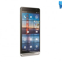 HP Elite X3 dari samping
