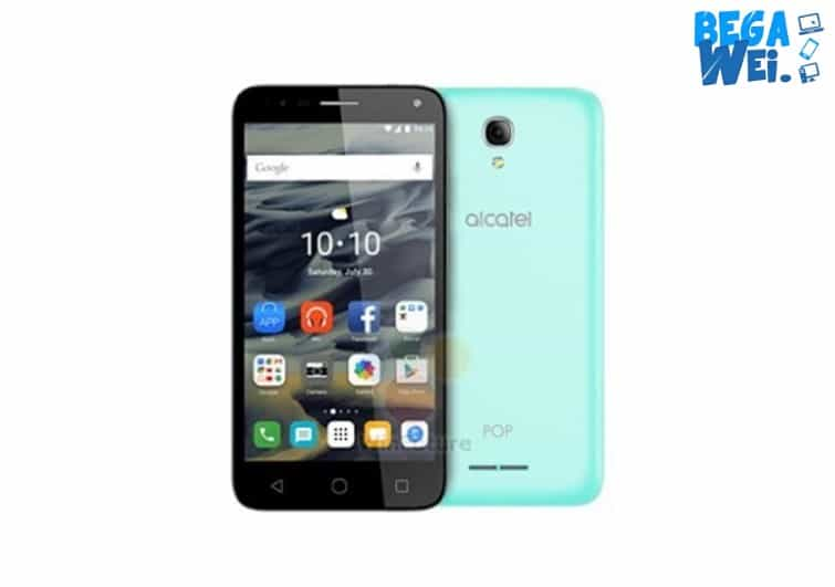 Alcatel Pop 4 Plus warna hijau muda