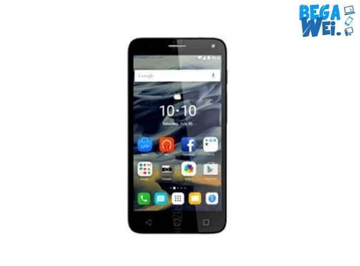 Alcatel Pop 4 Plus dari depan
