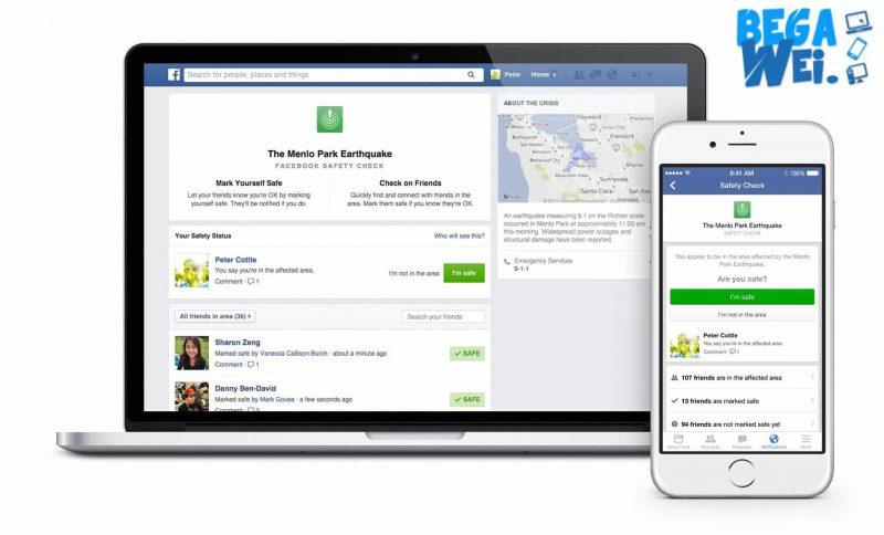 "Facebook users who were in Paris during the Friday night terror attacks were able to notify friends and family that they were safe through the site's ""Safety Check"" tool."