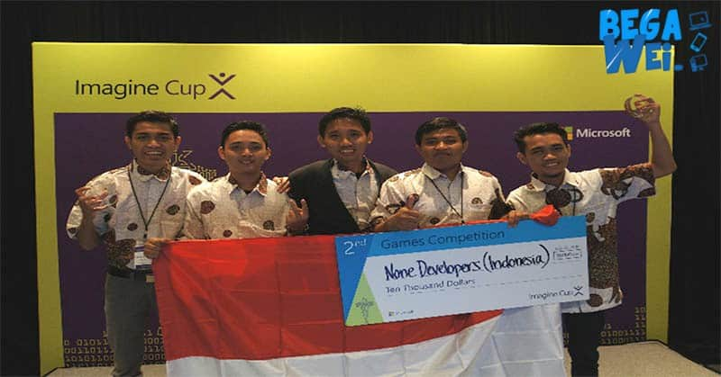 indonesia raih juara runner up untuk di imagine cup microsoft