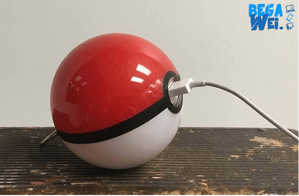 magicalsuperstore stratup pembuat powerbank pokeball handmade