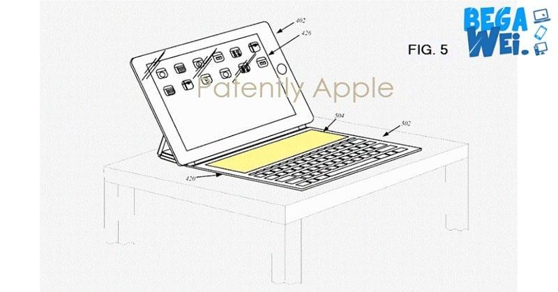 apple hadirkan keyboard pintar ipad dengan touch bar