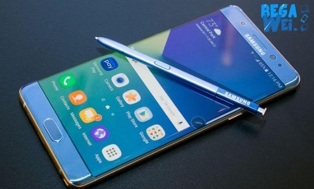 Software Migrasi Galaxy Note 7 Dibuat