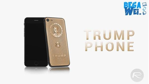 iphone 7 edisi premium donald trump dirilis caviar