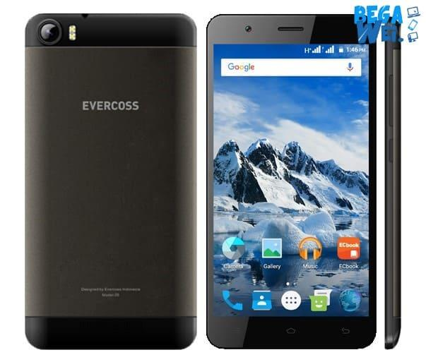 Evercoss Winner Z Extra memiliki memori 8 GB