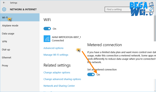 Cara Mematikan Update Windows 10 Menggunakan Metered Connection
