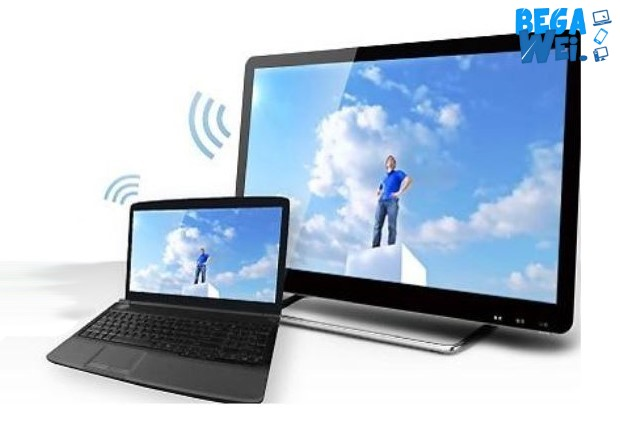 Cara Mirror PC Windows Dengan Wireless Display