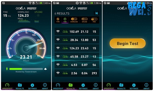 Cara Test Speed Internet Di Android