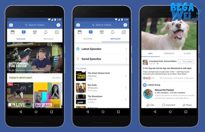 Facebook Mulai Saingi Youtube