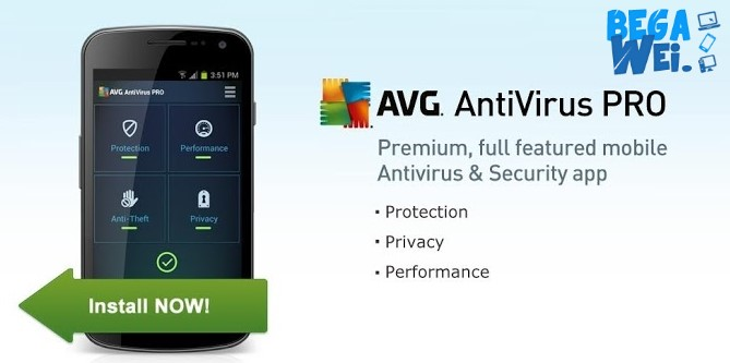 Aplikasi Antivirus Android Terbaik AVG Antivirus For Android