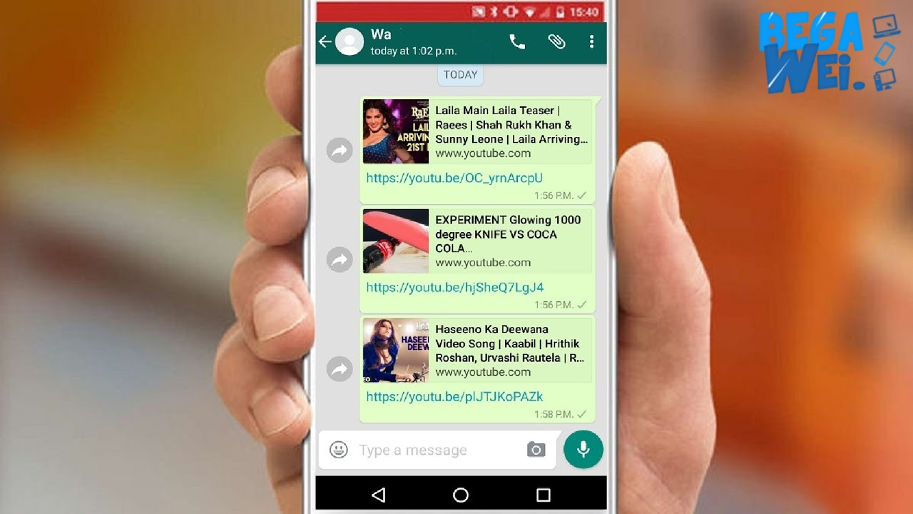 Video Youtube Di  WhatsApp